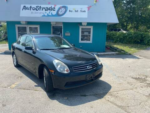 2006 Infiniti G35 for sale at Autostrade in Indianapolis IN