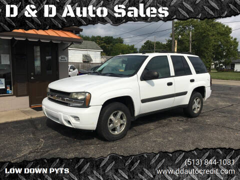 2005 Chevrolet TrailBlazer for sale at D & D Auto Sales in Hamilton OH