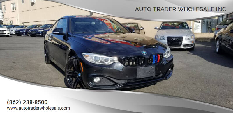 2016 BMW 4 Series for sale at Auto Trader Wholesale Inc in Saddle Brook NJ