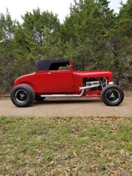 1928 Ford Model A for sale at Classic Car Deals in Cadillac MI