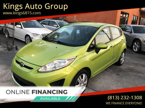 2012 Ford Fiesta for sale at Kings Auto Group in Tampa FL