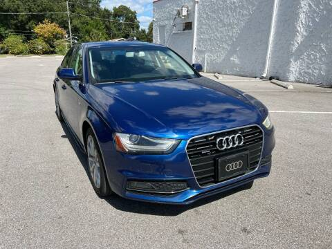 2015 Audi A4 for sale at LUXURY AUTO MALL in Tampa FL