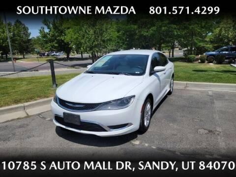 2015 Chrysler 200 for sale at Southtowne Mazda of Sandy in Sandy UT