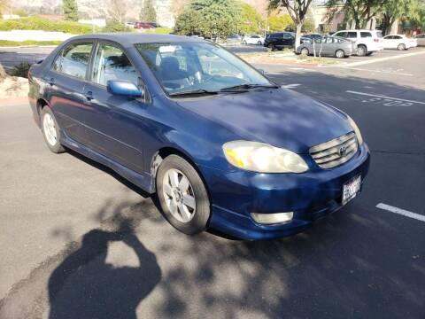 2003 Toyota Corolla for sale at Auto Facil Club in Orange CA