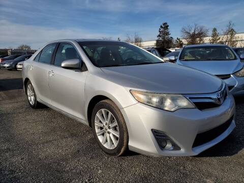 2012 Toyota Camry Hybrid for sale at M & M Auto Brokers in Chantilly VA