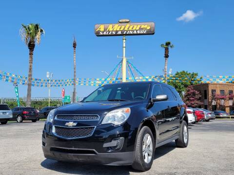2015 Chevrolet Equinox for sale at A MOTORS SALES AND FINANCE in San Antonio TX