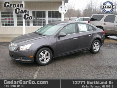 2011 Chevrolet Cruze for sale at Cedar Car Co in Cedar Springs MI