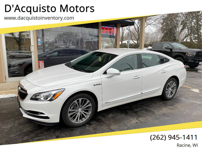 2019 Buick LaCrosse for sale at D'Acquisto Motors in Racine WI