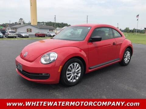 2012 Volkswagen Beetle for sale at WHITEWATER MOTOR CO in Milan IN
