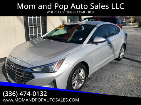 2019 Hyundai Elantra for sale at Mom and Pop Auto Sales LLC in Thomasville NC