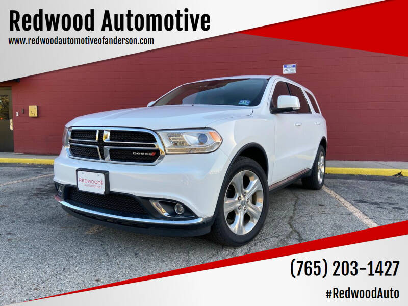 2014 Dodge Durango for sale at Redwood Automotive in Anderson IN