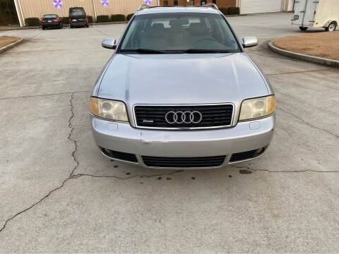 2004 Audi A6 for sale at Two Brothers Auto Sales in Loganville GA