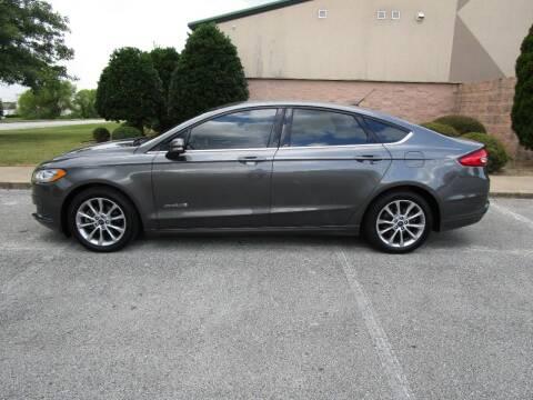 2017 Ford Fusion Hybrid for sale at JON DELLINGER AUTOMOTIVE in Springdale AR