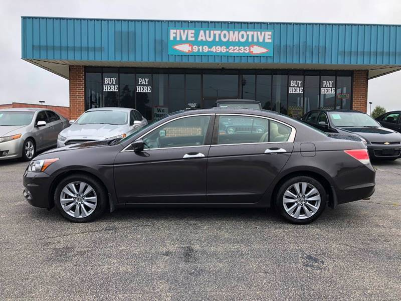 2011 Honda Accord for sale at Five Automotive in Louisburg NC