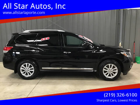 2014 Nissan Pathfinder for sale at All Star Autos, Inc in La Porte IN