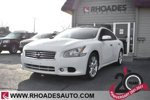 2014 Nissan Maxima for sale at Rhoades Automotive in Columbia City IN