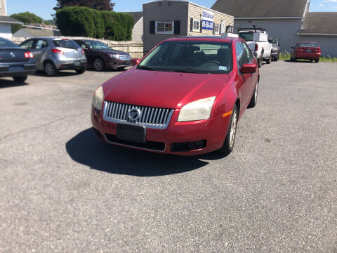 2008 Mercury Milan for sale at 25TH STREET AUTO SALES in Easton PA