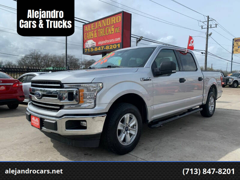 2018 Ford F-150 for sale at Alejandro Cars & Trucks Inc in Houston TX