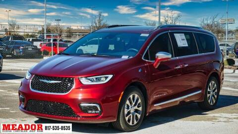 2021 Chrysler Pacifica Hybrid for sale at Meador Dodge Chrysler Jeep RAM in Fort Worth TX
