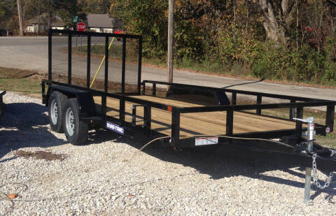 """2020 Sure-Trac 82"""" X16' utility for sale at Gaither Powersports & Trailer Sales in Linton IN"""