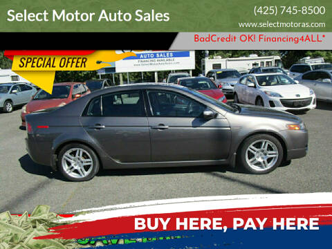 2007 Acura TL for sale at Select Motor Auto Sales in Lynnwood WA