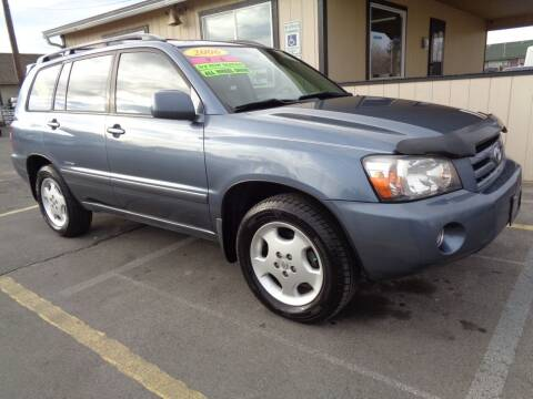 2006 Toyota Highlander for sale at BBL Auto Sales in Yakima WA