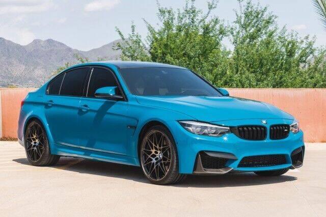 2018 BMW M3 for sale at PROPER PERFORMANCE MOTORS INC. in Scottsdale AZ