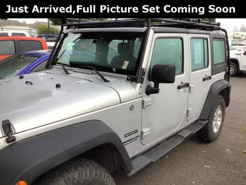 2012 Jeep Wrangler Unlimited for sale at Royal Moore Custom Finance in Hillsboro OR