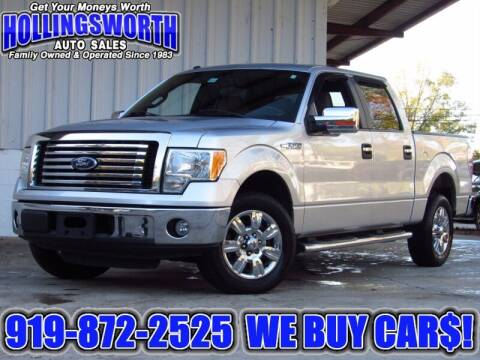 2010 Ford F-150 for sale at Hollingsworth Auto Sales in Raleigh NC