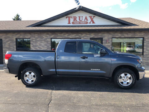 2010 Toyota Tundra for sale at Truax Auto Sales Inc. in Deer Creek MN