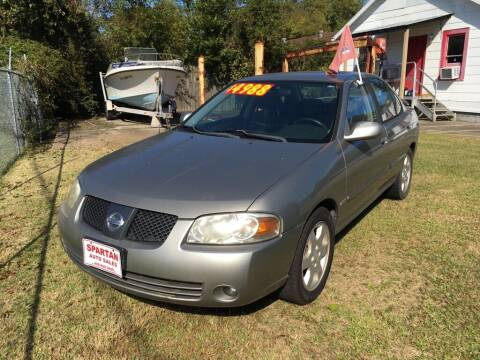 2006 Nissan Sentra for sale at Spartan Auto Sales in Beaumont TX