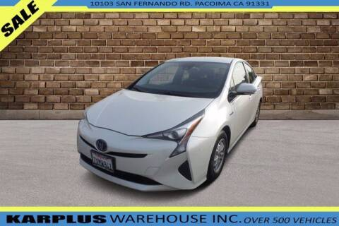 2017 Toyota Prius for sale at Karplus Warehouse in Pacoima CA