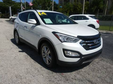 2014 Hyundai Santa Fe Sport for sale at Brascar Auto Sales in Pompano Beach FL
