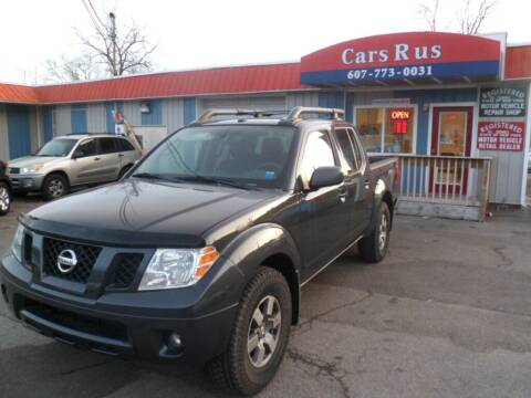 2011 Nissan Frontier for sale at Cars R Us in Binghamton NY