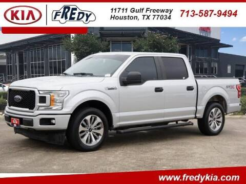 2018 Ford F-150 for sale at FREDY KIA USED CARS in Houston TX