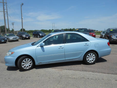 2006 Toyota Camry for sale at Salmon Automotive Inc. in Tracy MN