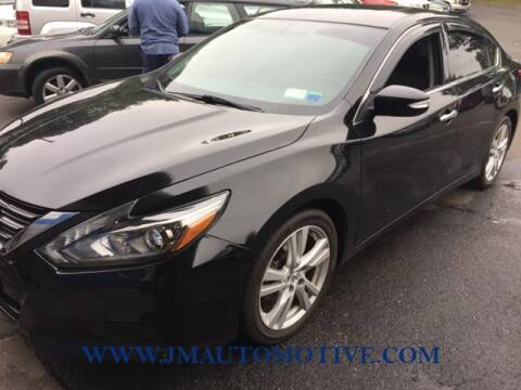 2016 Nissan Altima for sale at J & M Automotive in Naugatuck CT