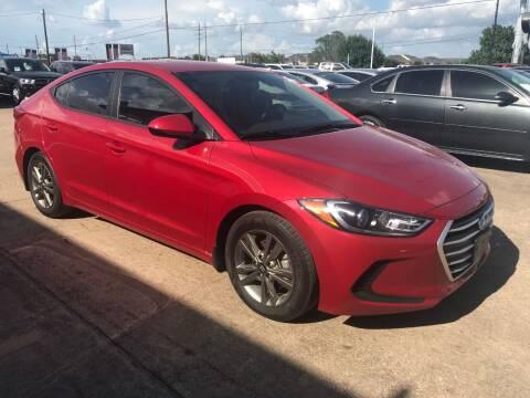 2018 Hyundai Elantra for sale at Discount Auto Company in Houston TX