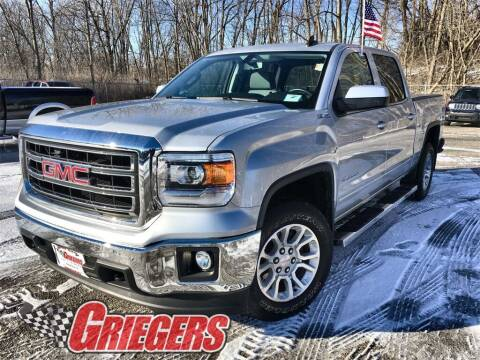 2015 GMC Sierra 1500 for sale at GRIEGER'S MOTOR SALES CHRYSLER DODGE JEEP RAM in Valparaiso IN