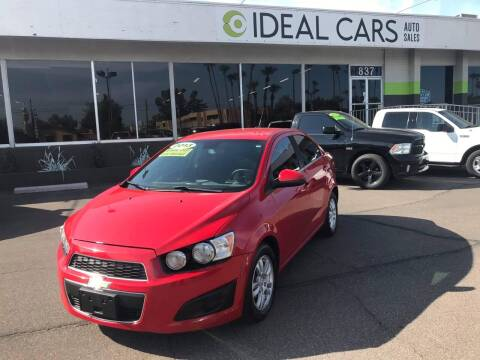 2013 Chevrolet Sonic for sale at Ideal Cars in Mesa AZ