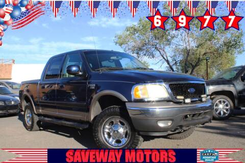 2003 Ford F-150 for sale at Saveway Motors in Reno NV