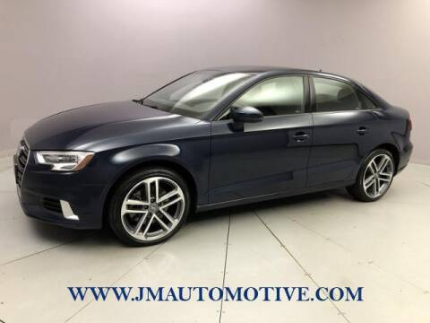 2018 Audi A3 for sale at J & M Automotive in Naugatuck CT