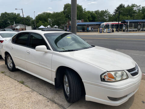 2004 Chevrolet Impala for sale at AUTO DEALS UNLIMITED in Philadelphia PA