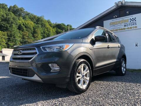 2018 Ford Escape for sale at Creekside PreOwned Motors LLC in Morgantown WV