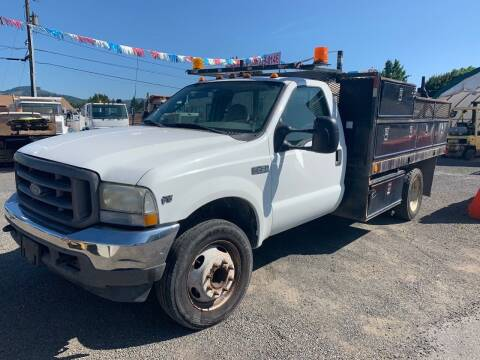 2003 Ford F-450 for sale at DirtWorx Equipment in Woodland WA