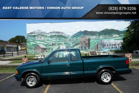 1997 Chevrolet S-10 for sale at EAST VALDESE MOTORS / VINSON AUTO GROUP in Valdese NC