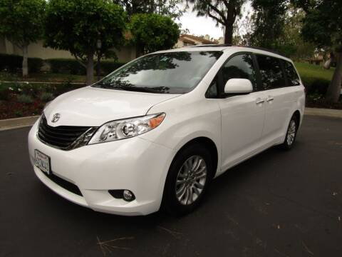 2013 Toyota Sienna for sale at E MOTORCARS in Fullerton CA