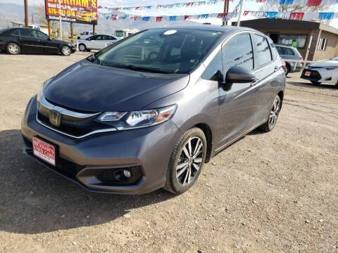 2019 Honda Fit for sale at Bickham Used Cars in Alamogordo NM