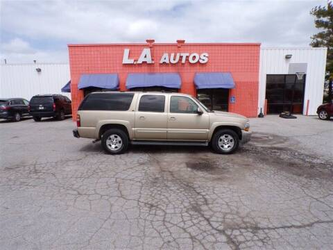 2005 Chevrolet Suburban for sale at L A AUTOS in Omaha NE