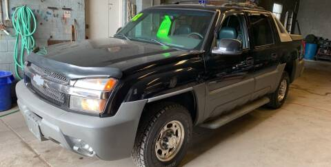 2002 Chevrolet Avalanche for sale at Frank's Garage in Linden NJ